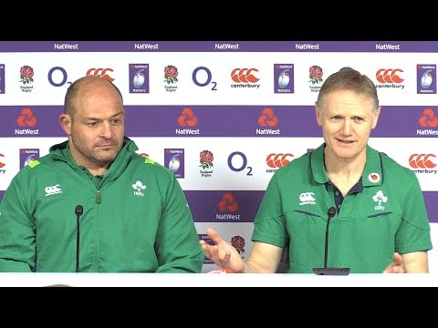England v Ireland - Joe Schmidt & Rory Best Post Match Press Conference - Six Nations