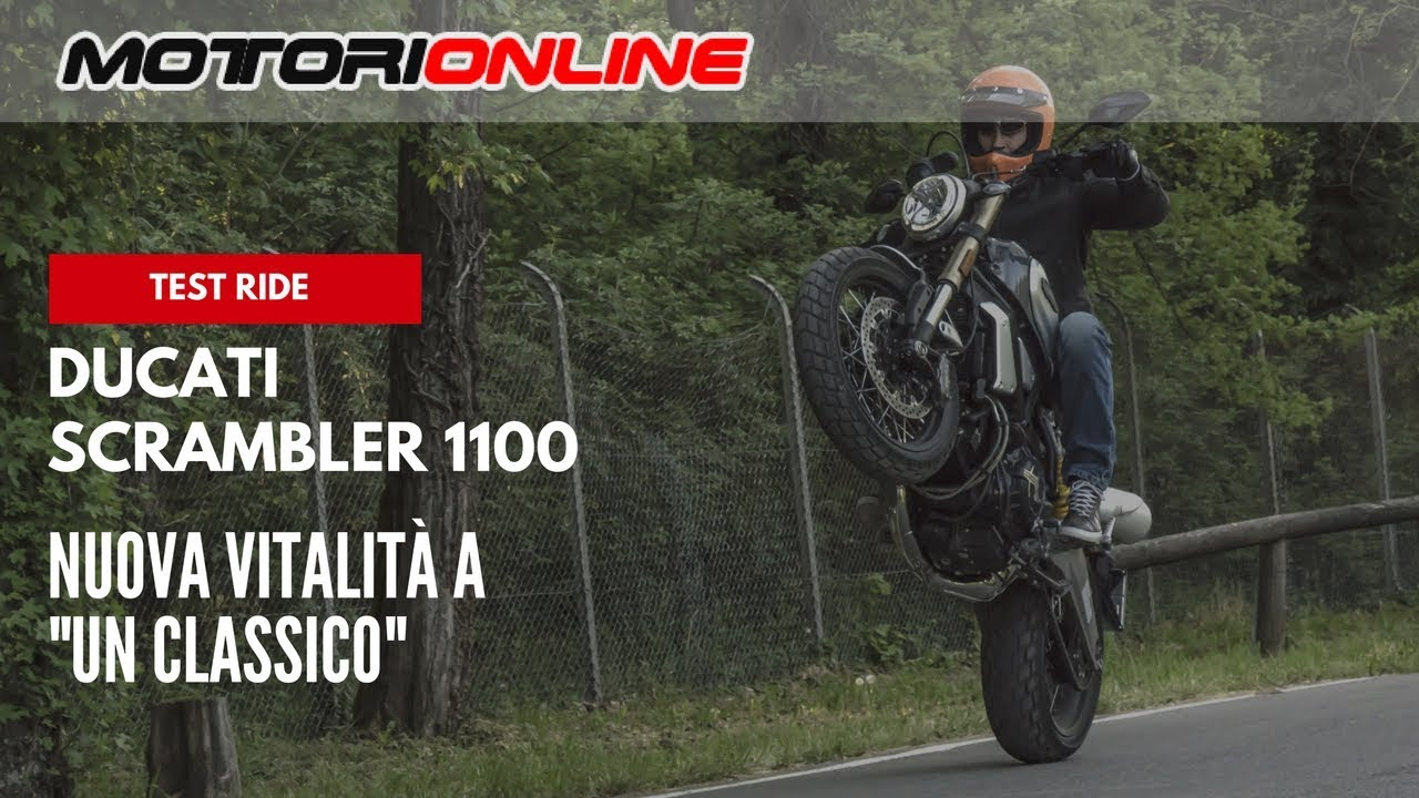 Ducati Scrambler 1100 2018 Test Ride Pregi E Difetti Youtube