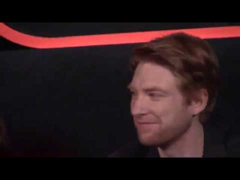 Domhnall Gleeson Is The Only Cast Member Who Hasn't Screened 'STAR WARS: THE LAST JEDI' Yet