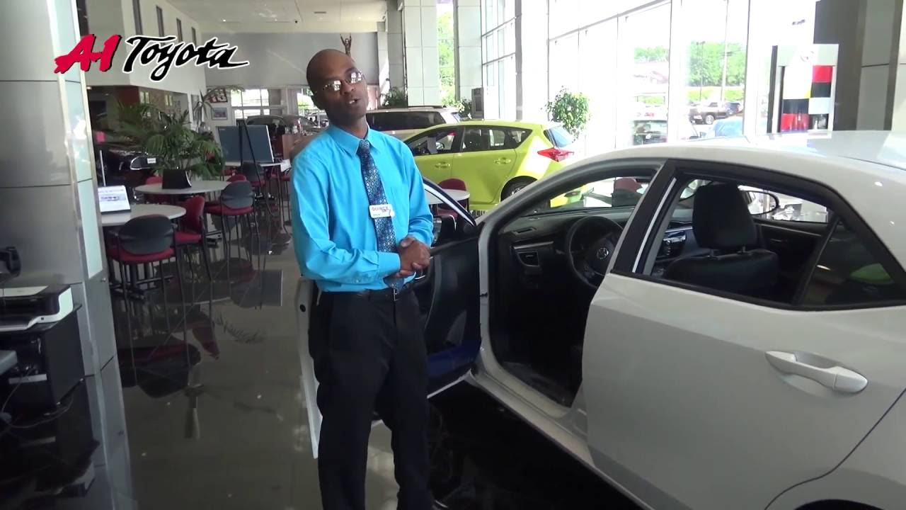 Walkaround Of The 2016 Toyota Corolla At A 1 Toyota In New Haven, CT