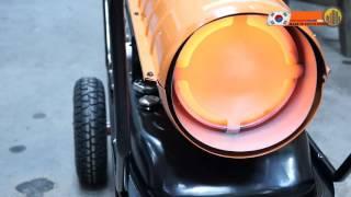 aurora ТК-100000 Дизельная тепловая пушка прямого нагрева