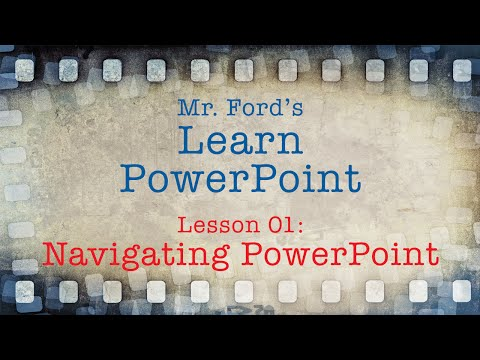 Learn Powerpoint Navigating Powerpoint