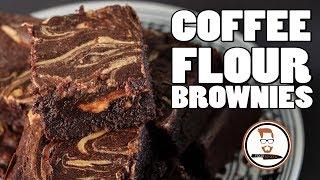GLUTEN FREE COFFEE FLOUR BROWNIES