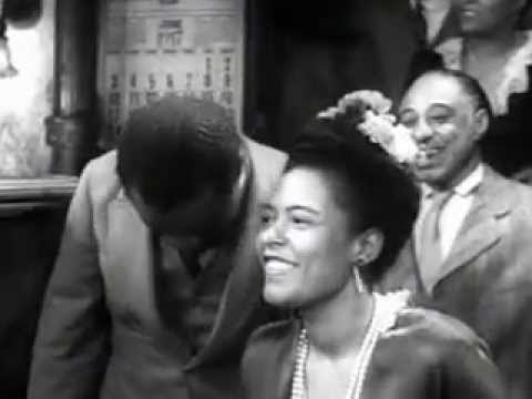 Jazz Video  Billie Holiday & Louis Armstrong  Dixie Music Man New Orleans '47