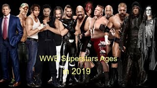 wwe superstars ages in 2019 - part 1