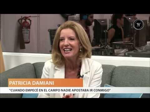 """Patricia Damiani: """"Nadie apostaba ir conmigo"""""""