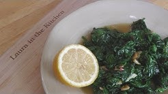 Garlic Sauteed Spinach - Recipe by Laura Vitale - Laura in the Kitchen Episode 196
