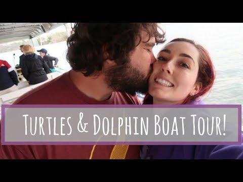 Exploring Jekyll Island, GA | Turtle Rehab Center & Dolphin Boat Tour!