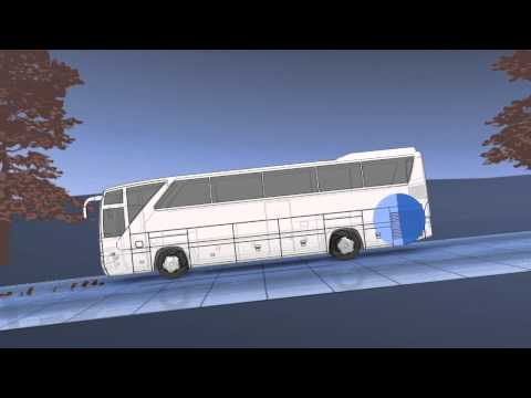 Periodic technical inspection motor buses