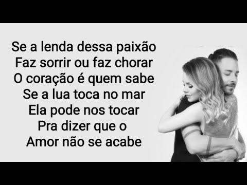 A lenda (Letra) - Sandy e Junior mp3