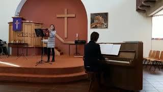 Solistenconcours Achtkarspelen 17-02-2018 Freke en Lineke Elzinga