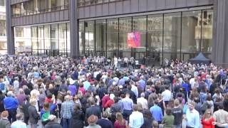 Sons of the Silent Age at Daley Plaza: Fame