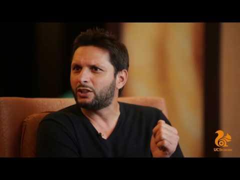 UC Browser presents Afridi Uncensored