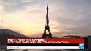 Paris terror attacks: iconic Eiffel Tower closed indefinitely