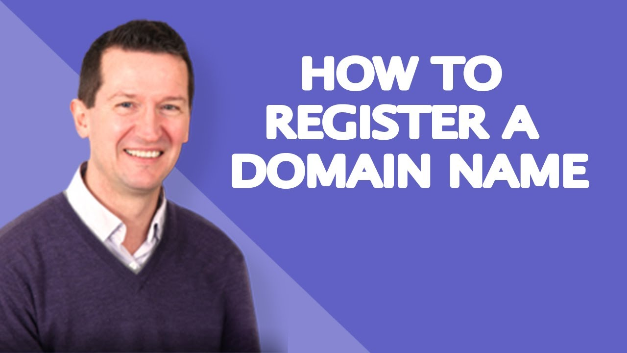 How To Register A Domain Name  Beginners Guide!  Youtube