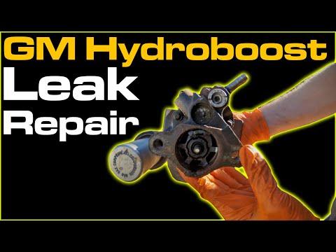 GM Hydroboost Brake Booster Leak Repair