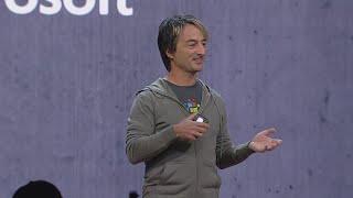 Technology Keynote: Microsoft 365: A powerful development platform : Build 2018 Video
