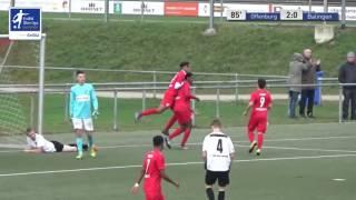 A-Junioren - Offenburger FV vs. TSG Balingen 2-0 - Anthony Mbem-Som Nyamsi