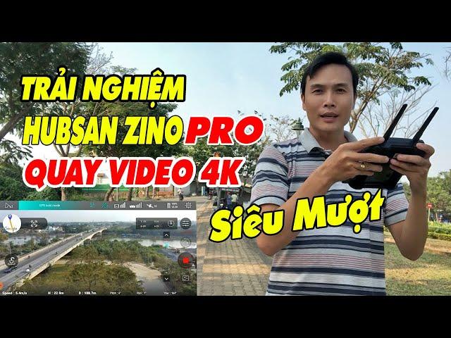 TRẢI NGHIỆM HUBSAN ZINO PRO QUAY VIDEO 4K SIÊU MƯỢT QUAY QUẬN HÓC MÔN SÀI GÒN