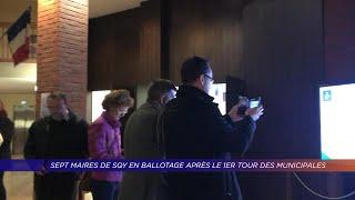 Yvelines | 7 maires de SQY en ballotage après le 1er tour des élections municipales