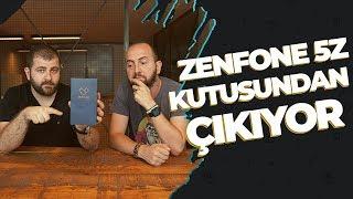 Asus Zenfone 5z kutu açılışı - Merakla beklenen telefon elimizde!