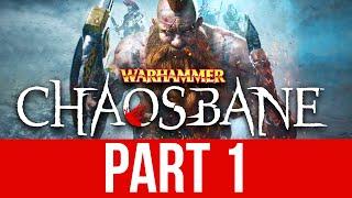 WARHAMMER CHAOSBANE Gameplay Walkthrough Part 1 - EMPIRE SOLDIER