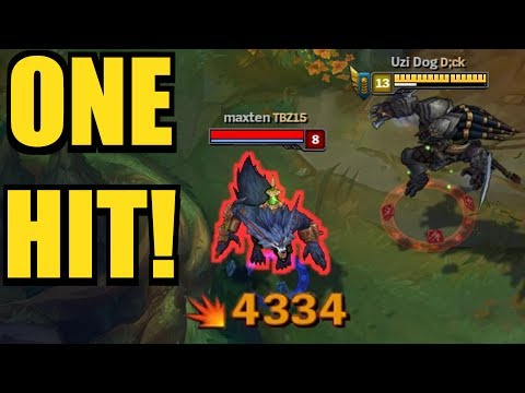 ONE HIT = ONE KILL?!! RENGAR Full Lethality! 41 ONESHOTS IN 1 GAME!!  [ League of Legends ]