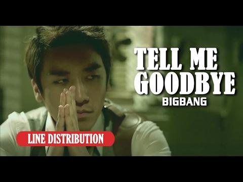 【Line Distribution】Tell me goode  BIGBANG