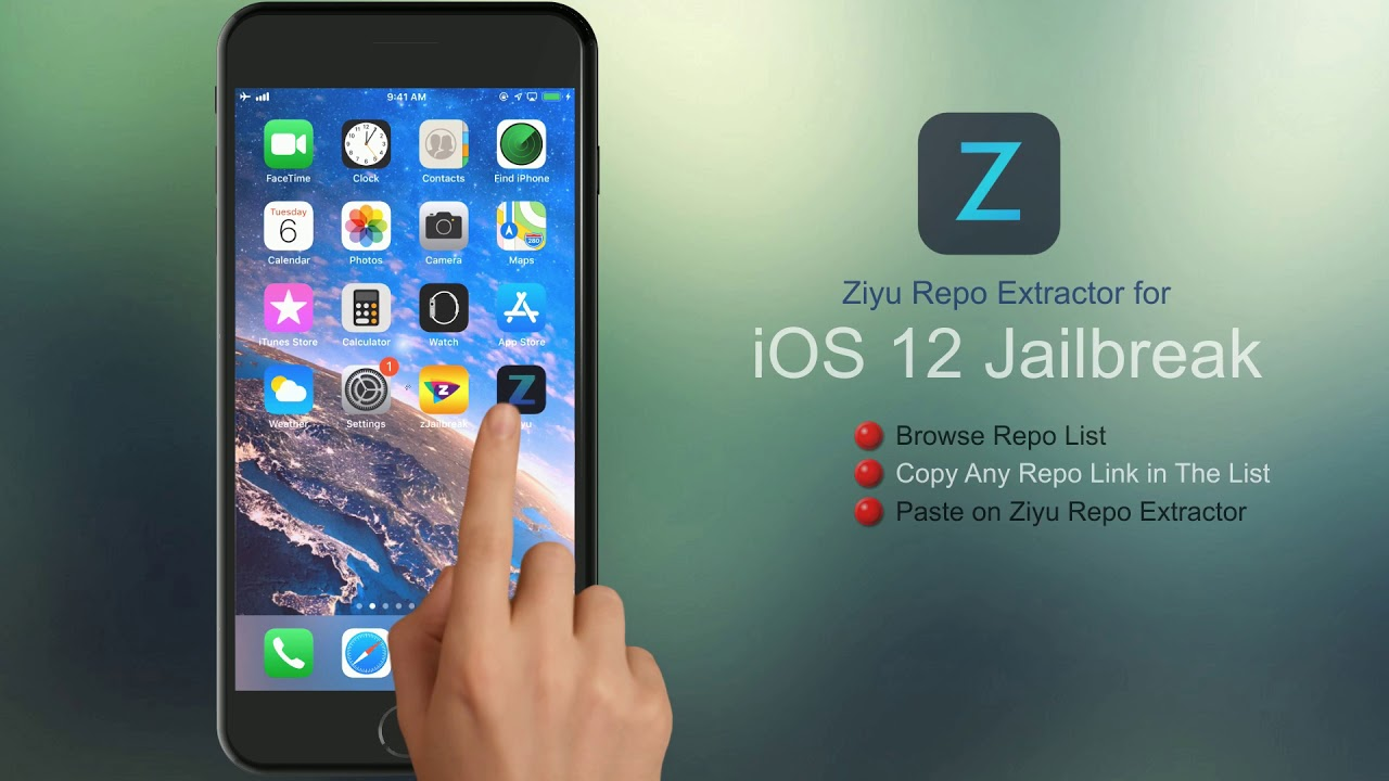 Get Ziyu Repo Extractor Free For Ios 12 To 1 2