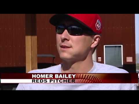 Reds Spring Training update- HOMER BAILEY
