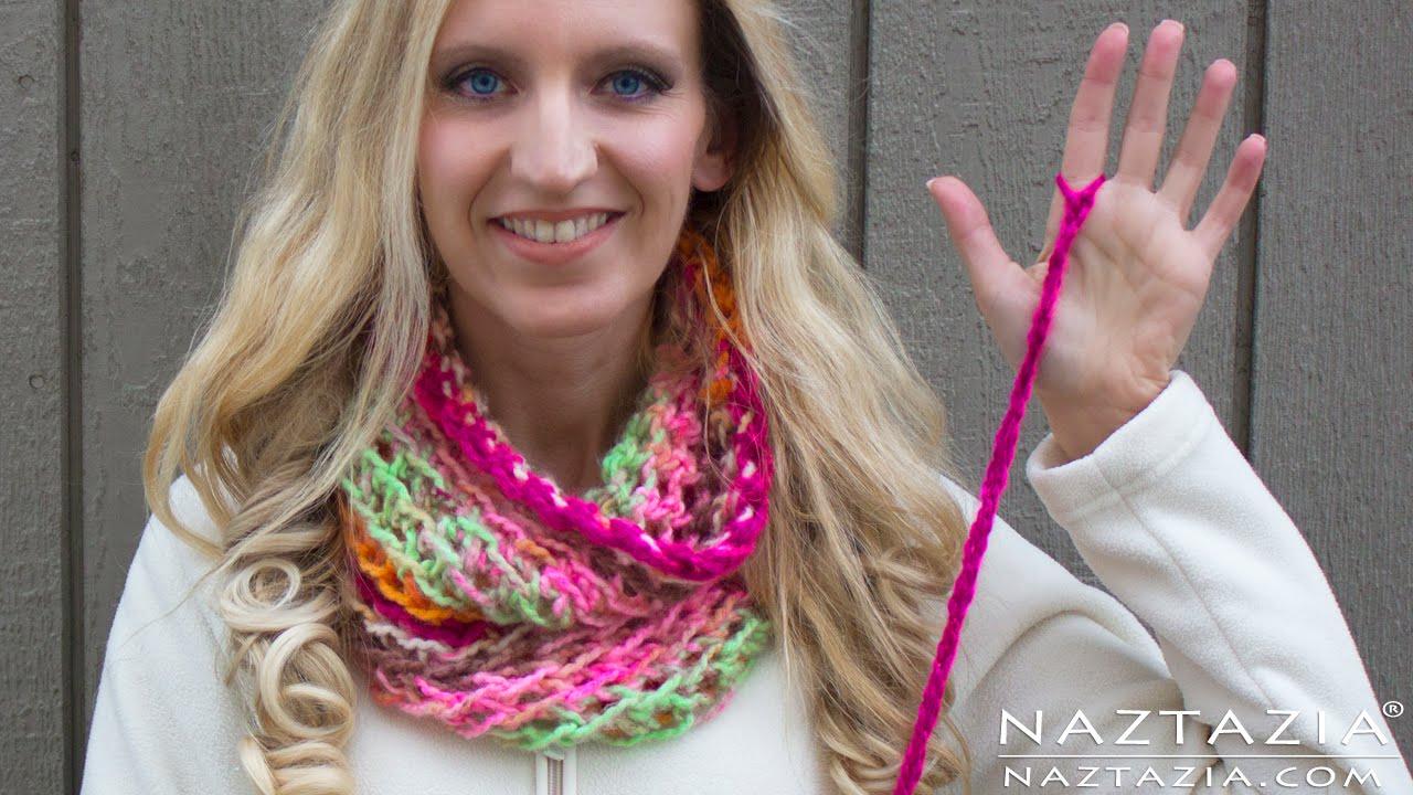 DIY Tutorial Left Hand How to Finger Crochet Very Easy