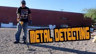 METAL DETECTING CASA GRANDE ARIZONA FOR TREASURES