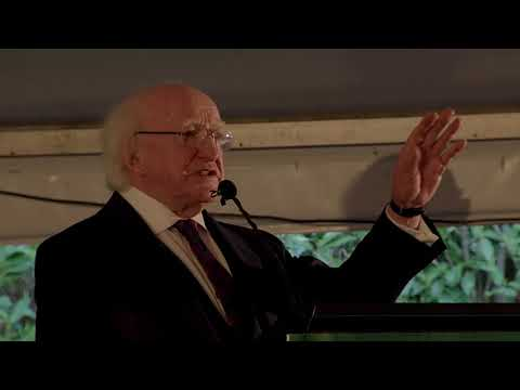 Address to the Irish community in Canberra, Australia