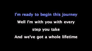 I Do (in the style of Westlife) Karaoke Backing Track - YouTube