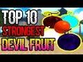 TOP 10 STRONGEST DEVIL FRUITS IN ONE PIECE MILLENIUM | ROBLOX | AXIORE