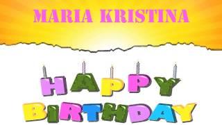 MariaKristina   Wishes & Mensajes - Happy Birthday