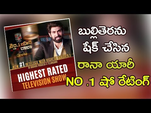 Rana's No.1 Yaari Show Is Top Rating Show Across Television Industry | No1 Yaari With Rana Talk Show