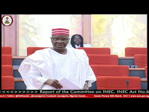 Senate Plenary, 30th March 2017