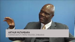 Arthur Mutambara talks tough about Zimbabwe crisis, sanctions and Mnangagwa dialogue