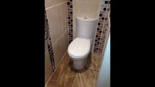 How to install a downstairs toilet