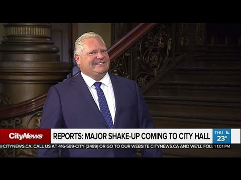 Ford to slash Toronto council seats: report