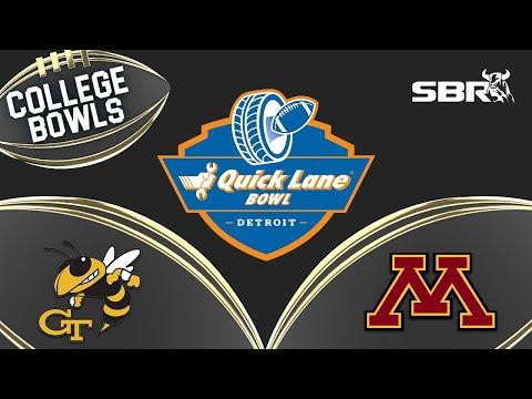 College Football Picks Against the Spread | Quick Lane Bowl 2018 | Minnesota vs Georgia Tech