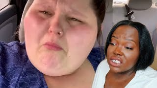 amberlynn reid forced to lose weight? | reaction