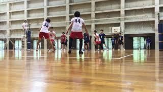 2018/6/3 さくら体育館 B vs 関学B ①25-19 https://youtu.be/2bDp1qIF4X...