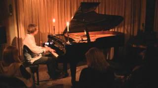 Chad Lawson - Nocturne in A Minor - live new age solo piano concert at Piano Haven