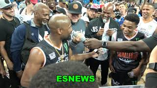 Pacquiao vs Mayweather Showdown May Happen In The NBA - Sons Got Skills