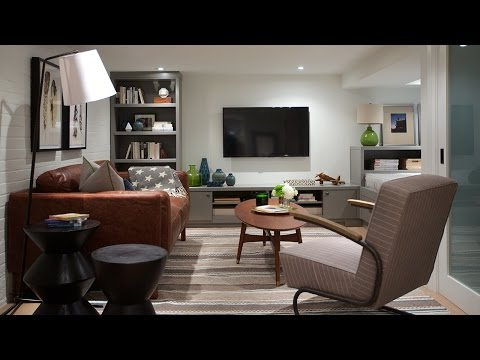 Interior Design Small Family Basement Youtube