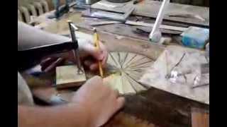 видео Антикварный ломберный стол / Игорный стол, конец XIX века, Англия.