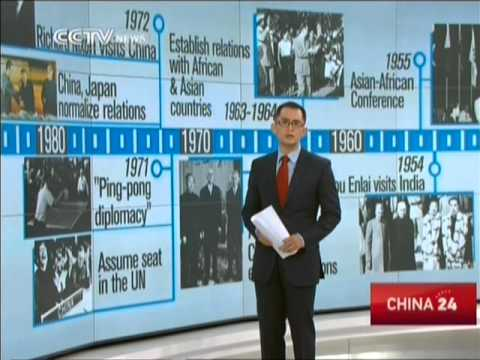 China's foreign relations: from isolated to active