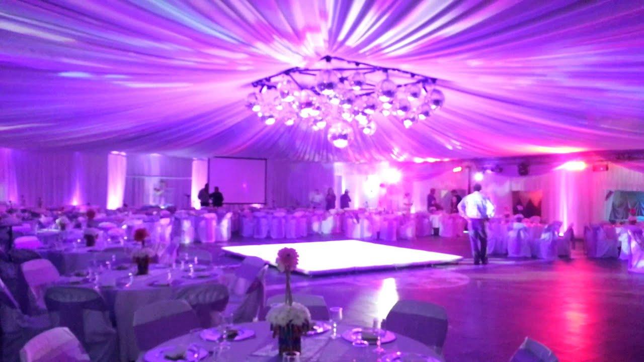 Aljor iluminacion ambientacion interior y pista de baile - Iluminacion interior led ...